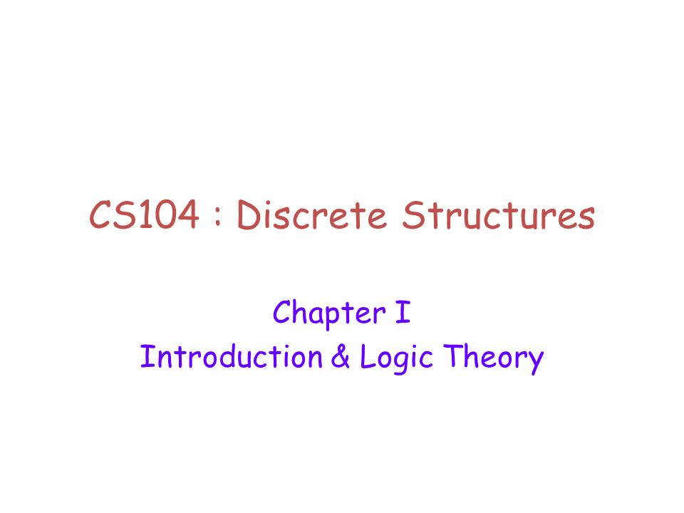 discrete structure While in discrete structures we study software structures (or structures generated by software), such that each discrete structure is preceded by a couple of lectures, for example, from the world discrete math required to understand this structure.