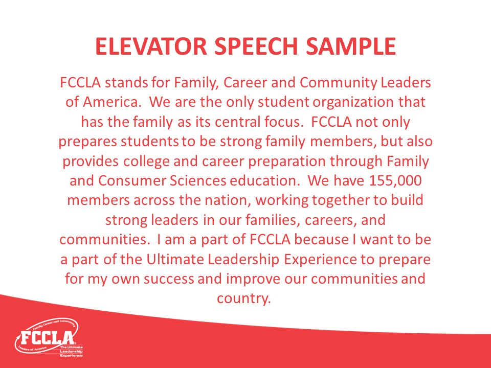 fccla the key to sustainable programs ppt download