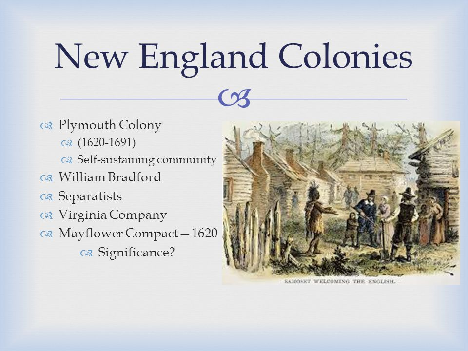 mayflower compact significance How was the mayflower compact significant to american political development  objectives (what content and skills do you expect students to learn from this.