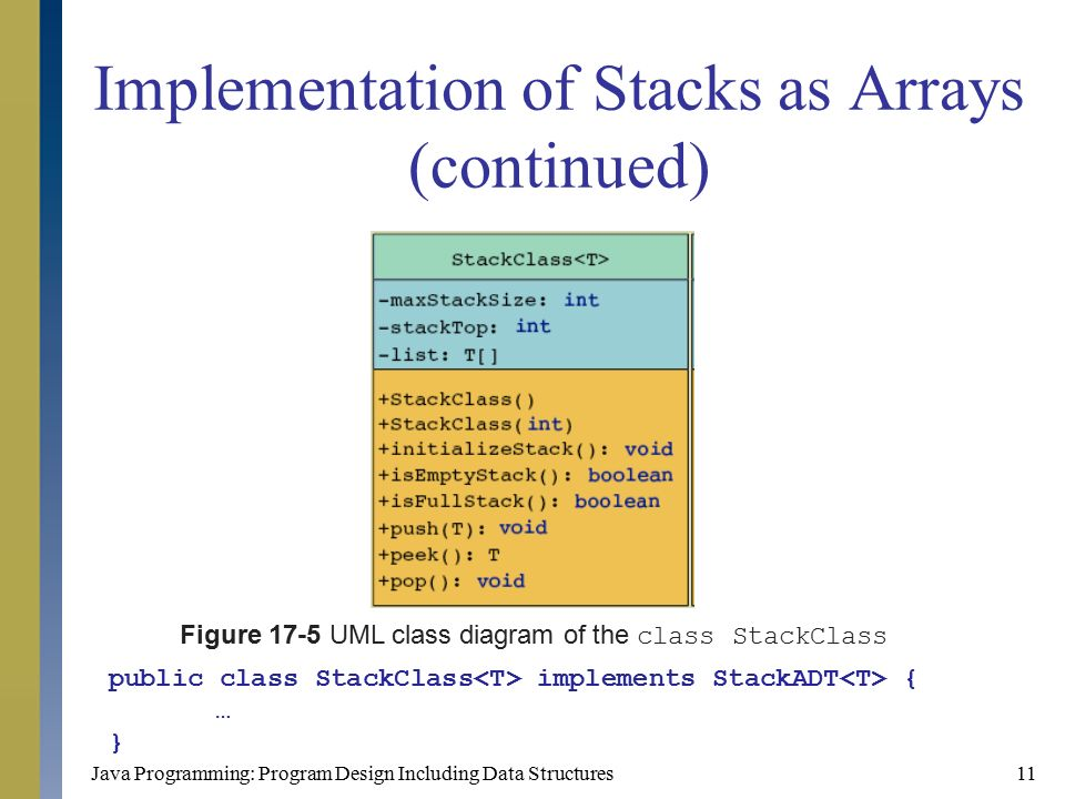 stack linked list