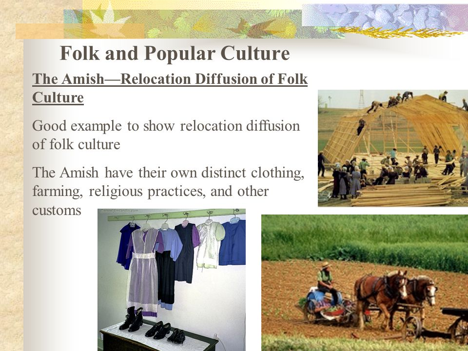 An analysis of amish religious customs