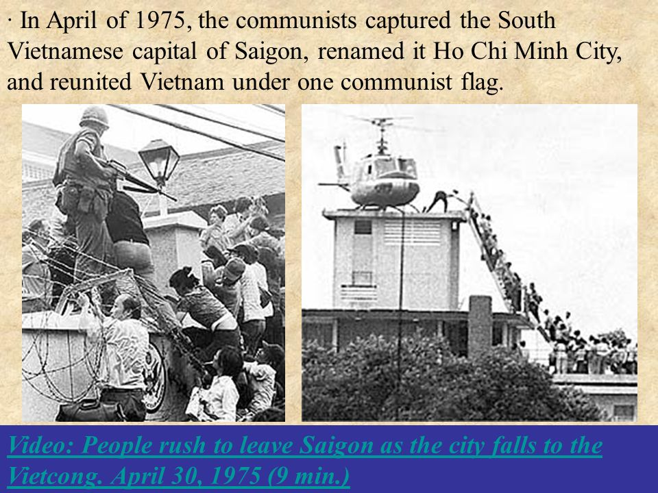 the effectiveness of the south vietnamese The second indochina war topics in this part of the course we will cover the following topics: nature and effectiveness of the strategy and tactics employed by the north vietnamese army and.