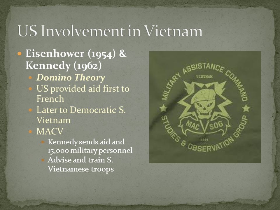 an analysis of kennedy administrations involvement in the vietnam war The mouse that roared intelligence unit's role in the vietnam war the outset of the kennedy administration state department.