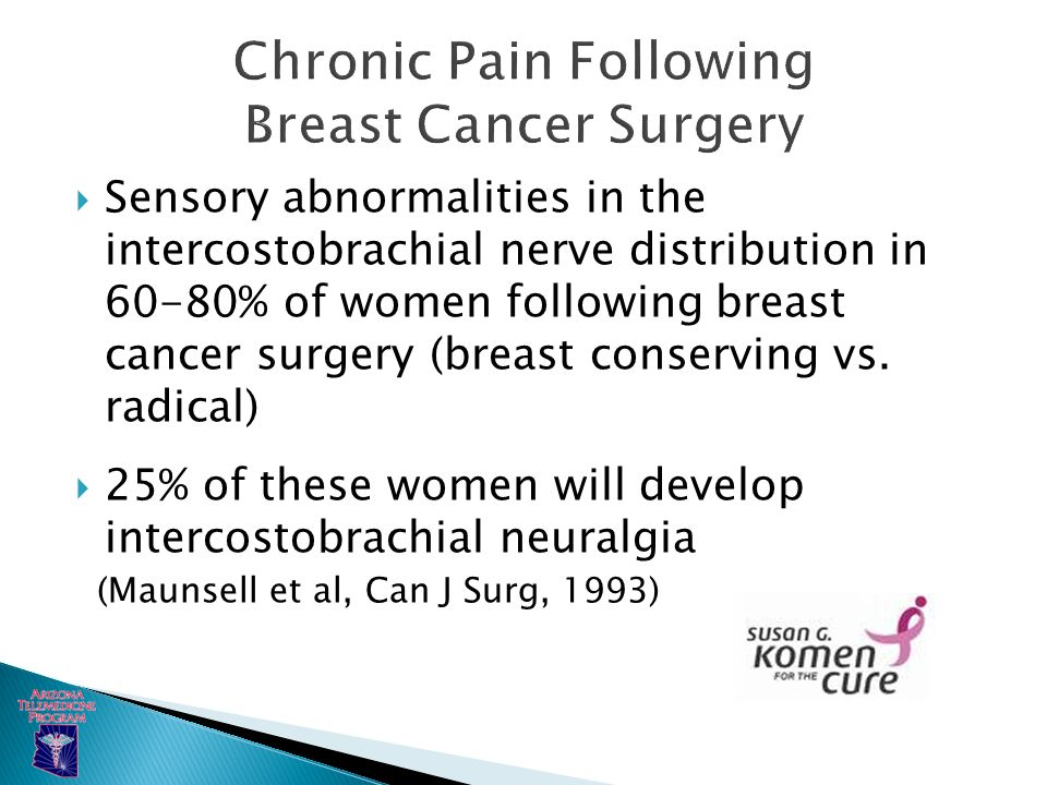 breast cancer pain management