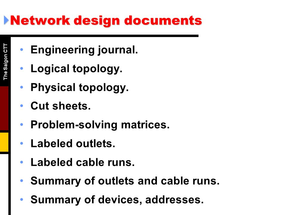 """topology design and cabling specifications Structured cabling standards specify generic installation and design topologies  that are characterized by a """"category"""" or """"class"""" of transmission performance."""