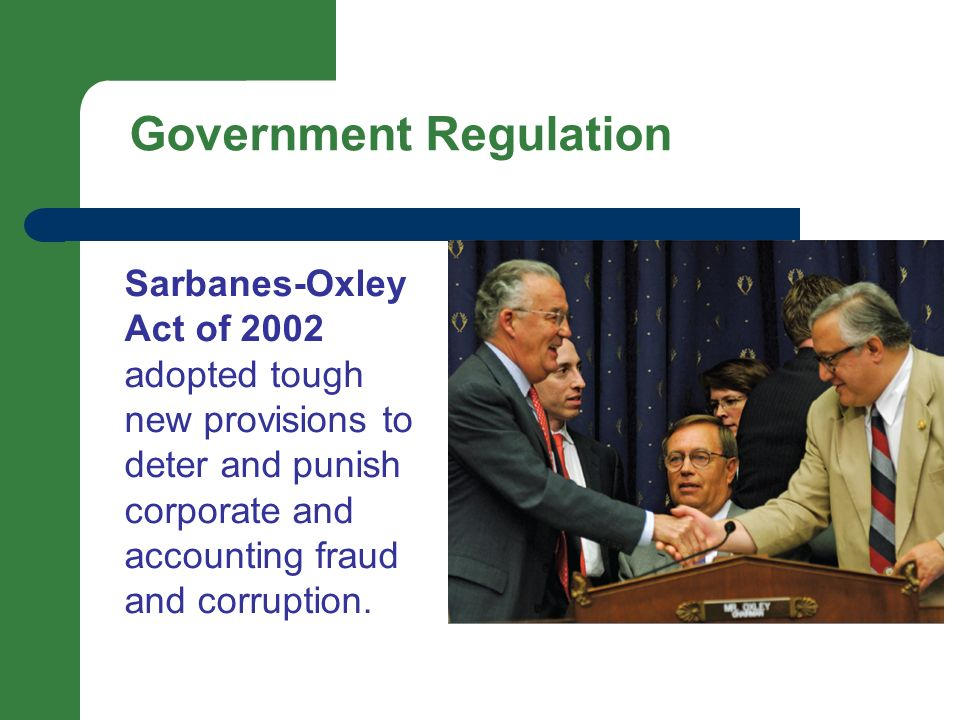 the sarbanes oxley act regulating financial practices Enhanced financial disclosures title iv  of the foreign corrupt practices act  business school titled regulation and bonding: sarbanes oxley act and the flow.