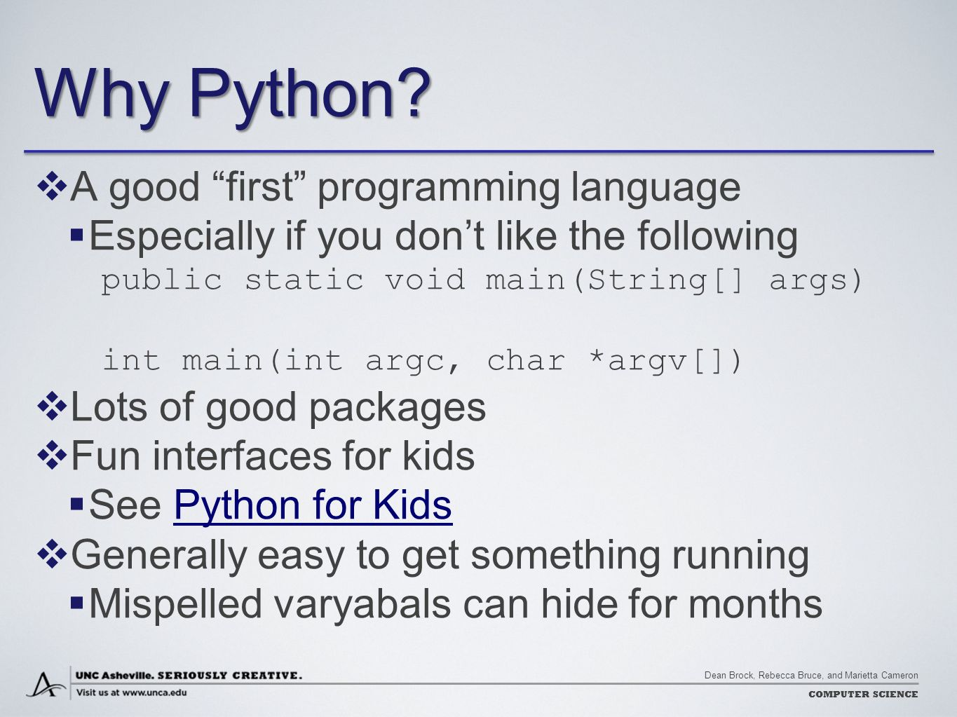 how to make a programming language in python