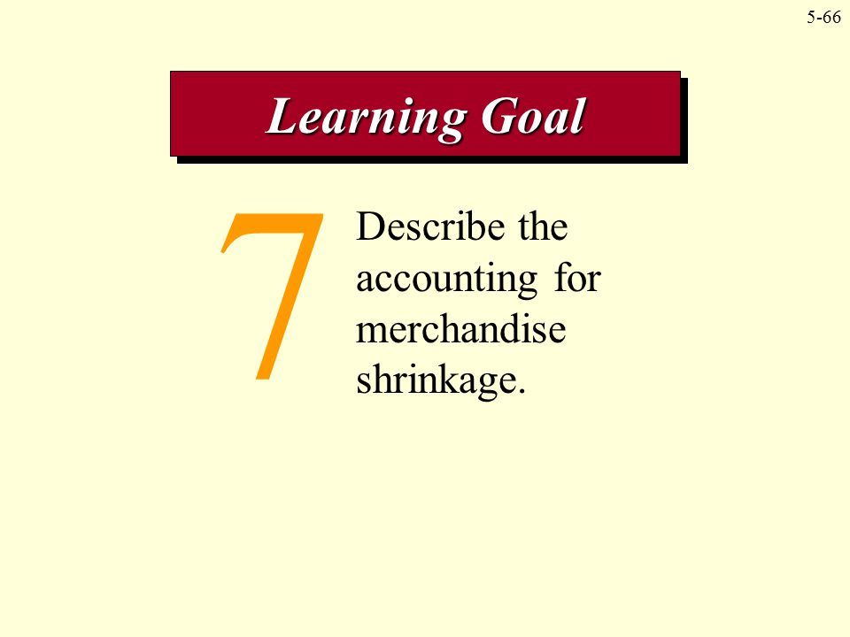 Accounting For Inventory Shrinkage