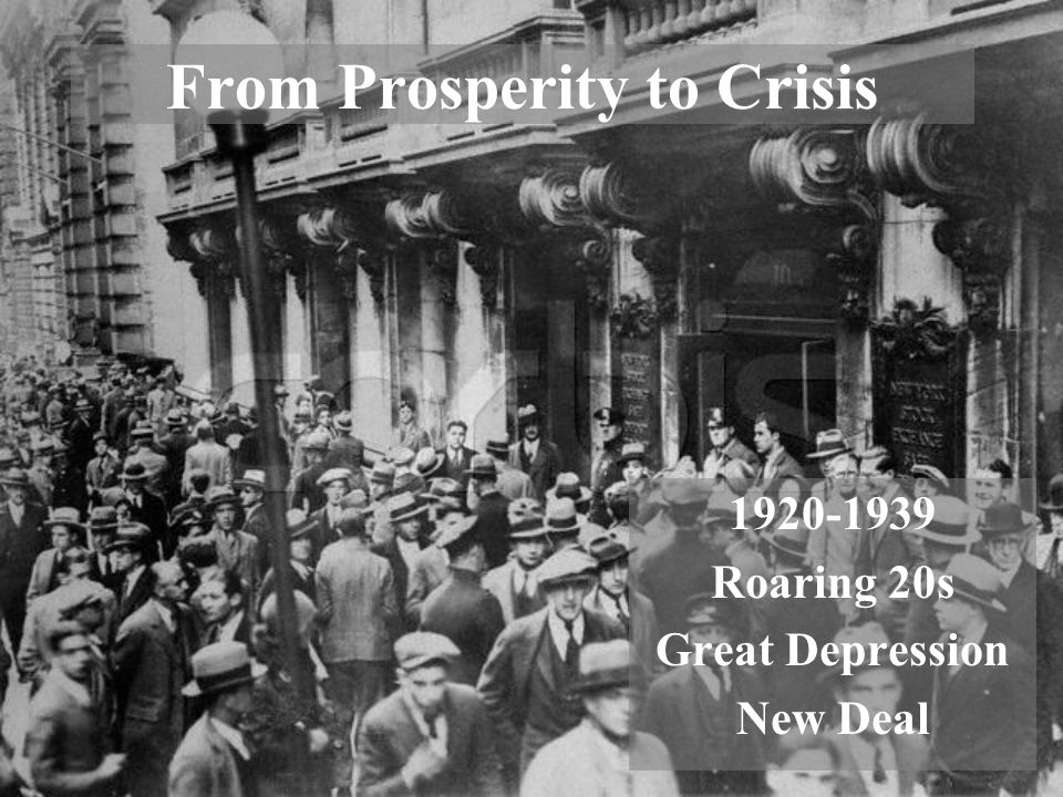 how the prosperity of the roaring Not only was american culture 'roaring' in terms of style and social trends, but the economy was 'roaring' as well the decade was a time of tremendous prosperity.