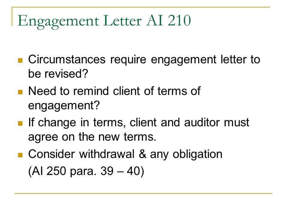 Lecture 2 Audit Engagement And Audit Planning - Ppt Video Online