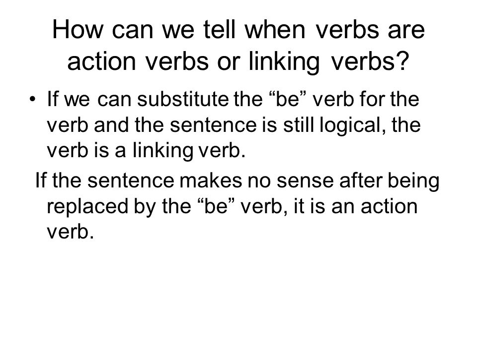 how to write a linking sentence teel