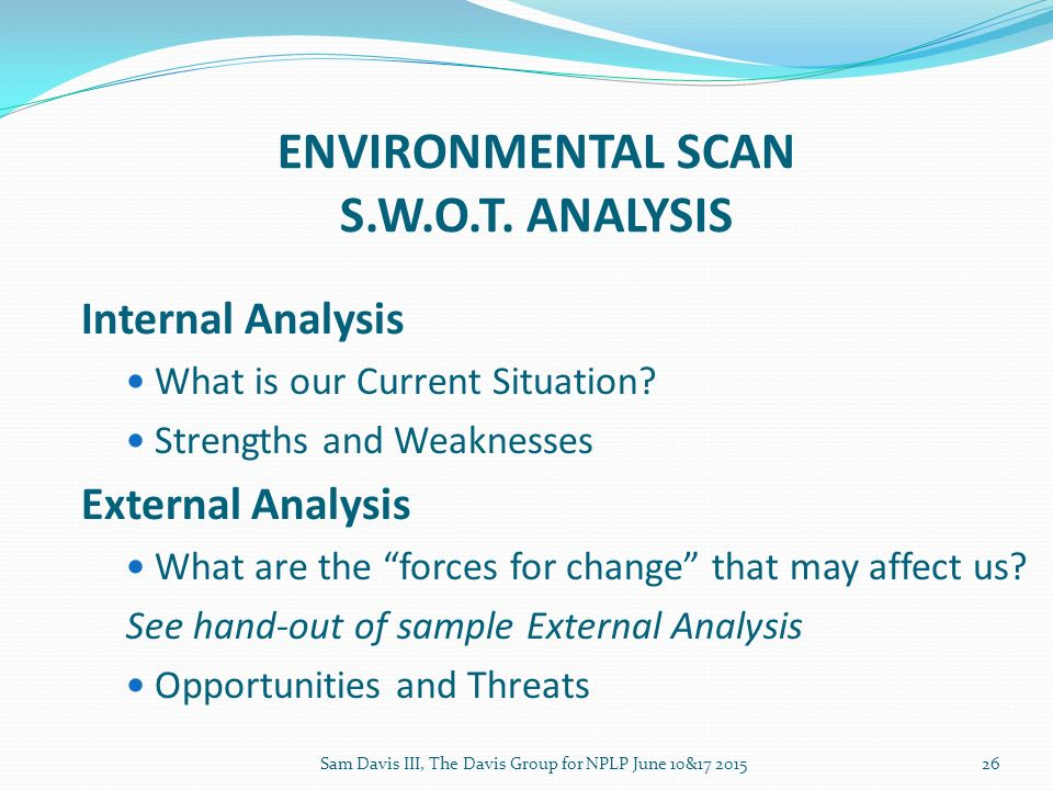 current environmental analysis Current macroeconomics current macroeconomic conditions evaluating current macroeconomic indicators are essential for managers to monitor on an ongoing economic environmental scan of their organizations.