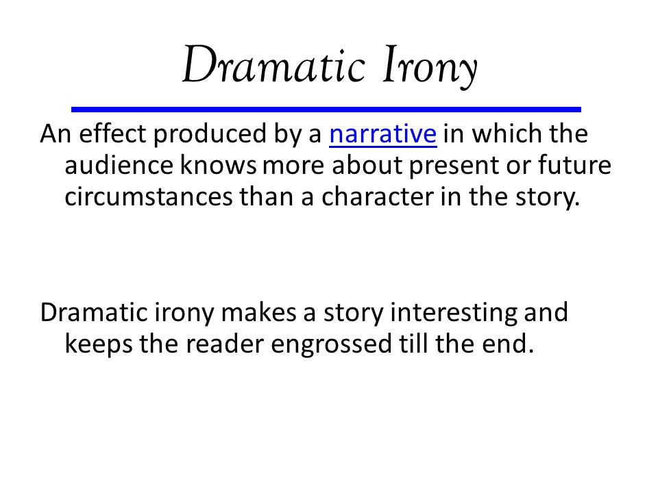 how does dramatic irony effect an audience Mention at least three instances of dramatic irony in the play, and, more importantly, discuss the effect it has on the audience: how does dramatic irony affect the way we feel towards the characters the action in the play with whom do we sympathize and why 3 consider the characters of cyrano and christian.