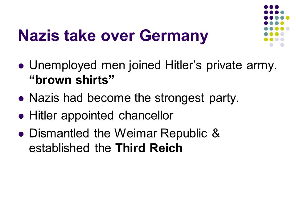 how did hitler gain control over germany There were still many germans who were skeptical of hitler when he  he was  now head of state and supreme commander of the armed.