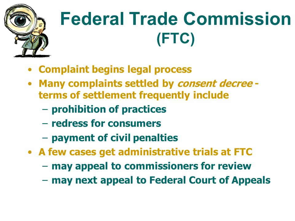 the federal trade commission on deception and unfairness Vii unfair and deceptive practices — federal trade commission act  f  benefits to consumers or to competition to be unfair, the act or practice must be.