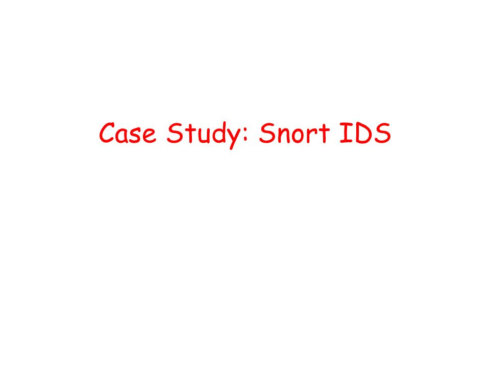 intrusion detection system case study Monitors) with centralized data analysis (through the dids director) in order to  monitor a heterogeneous  analysis this approach is unique among curent  intrusion detection systems  cases it is the event that determines the  significance.