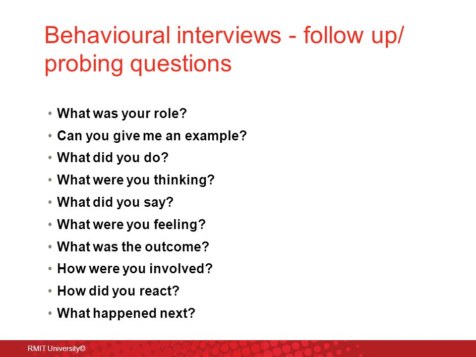 Sample Behavioural Interview Questions  BesikEightyCo