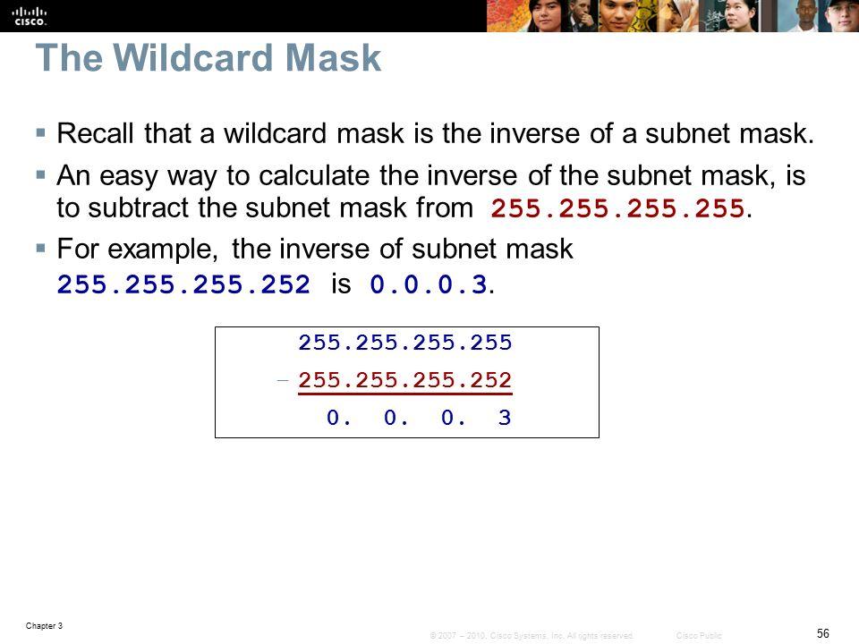 mac wildcard mask