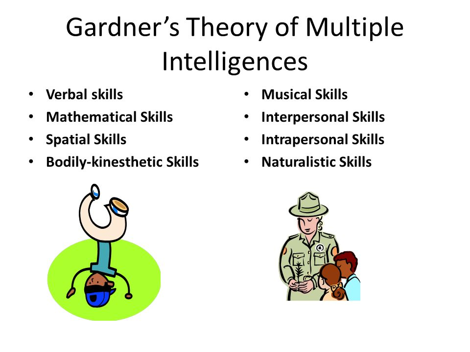 the realization of gardner s multiple intelligences In the theory of multiple intelligences (mi), howard gardner has  a composite of  reason and desire for two kinds of value(s), each of the latter.