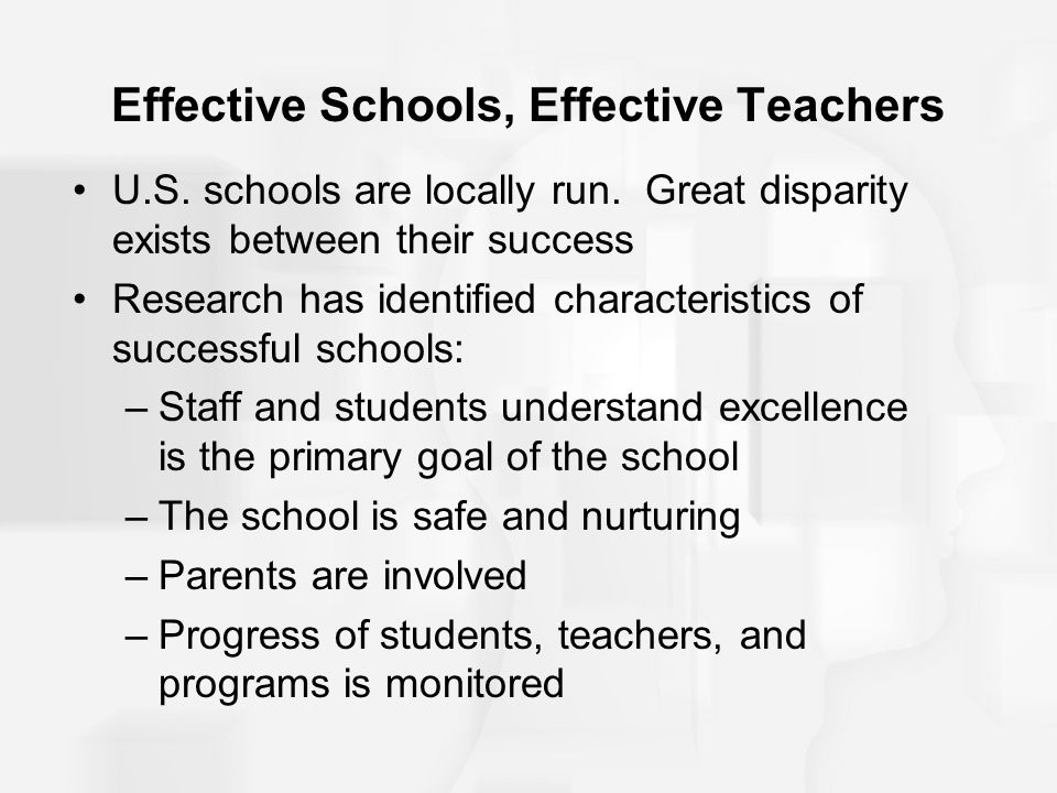 effective school research 2012-11-26  introduction educational effectiveness research (eer) has shown rapid growth in the quantity and quality of the research answers it can produce to its core.