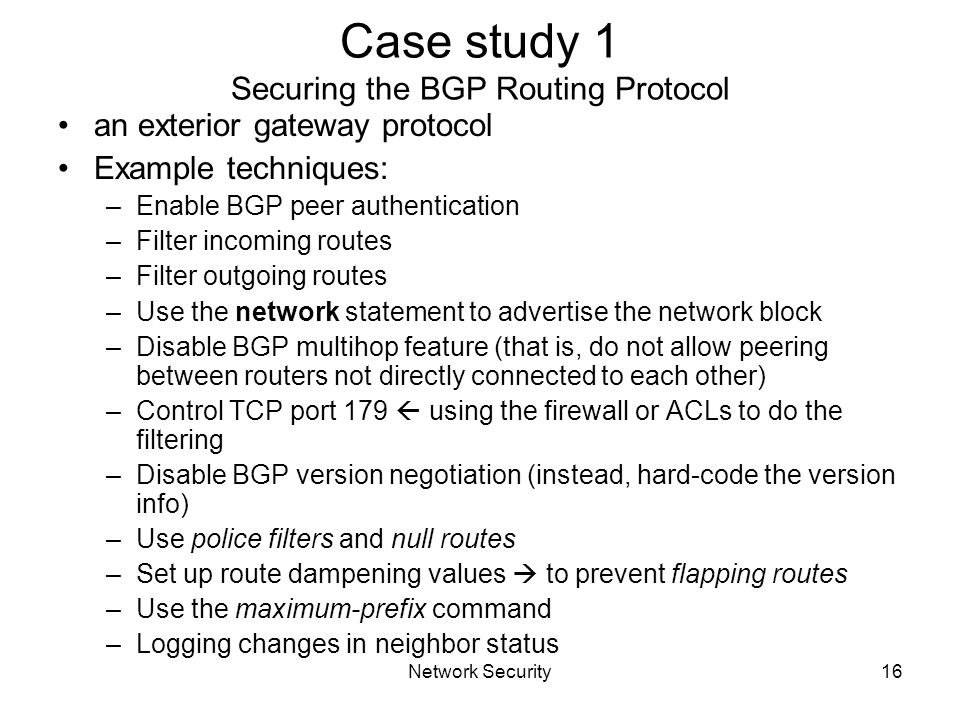 Chapter 4 secure routing ppt download for Exterior gateway protocol examples