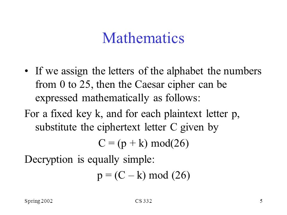 Mathematics If We Assign The Letters Of Alphabet Numbers From 0 To 25