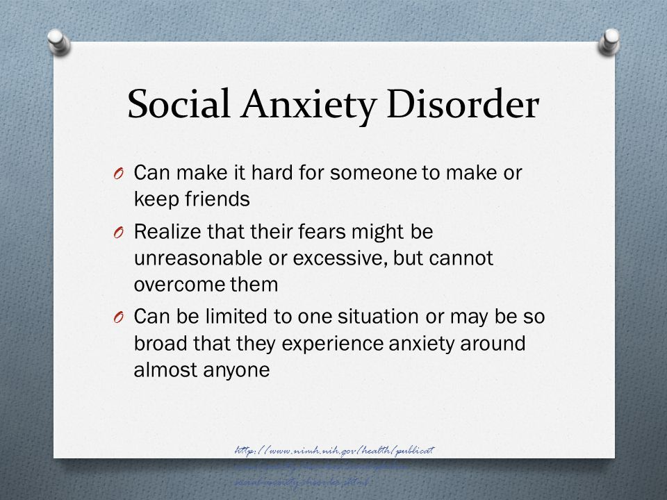 social anxiety how to make friends