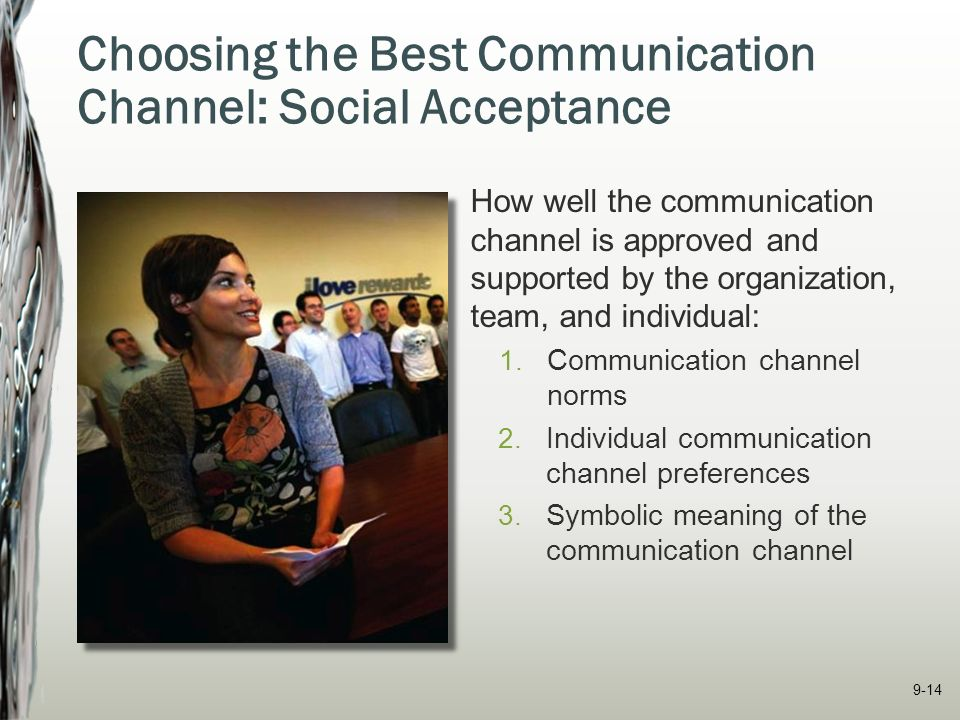 choosing the best communication channel essay On the 'right' conclusion, so the argument goes, then why should either side be recognised as being in a position of proliferation of communication channels and sources of information with the increased use used electronic voting handsets to allow the audience to 'choose their own lecture' – ie select from a range of.