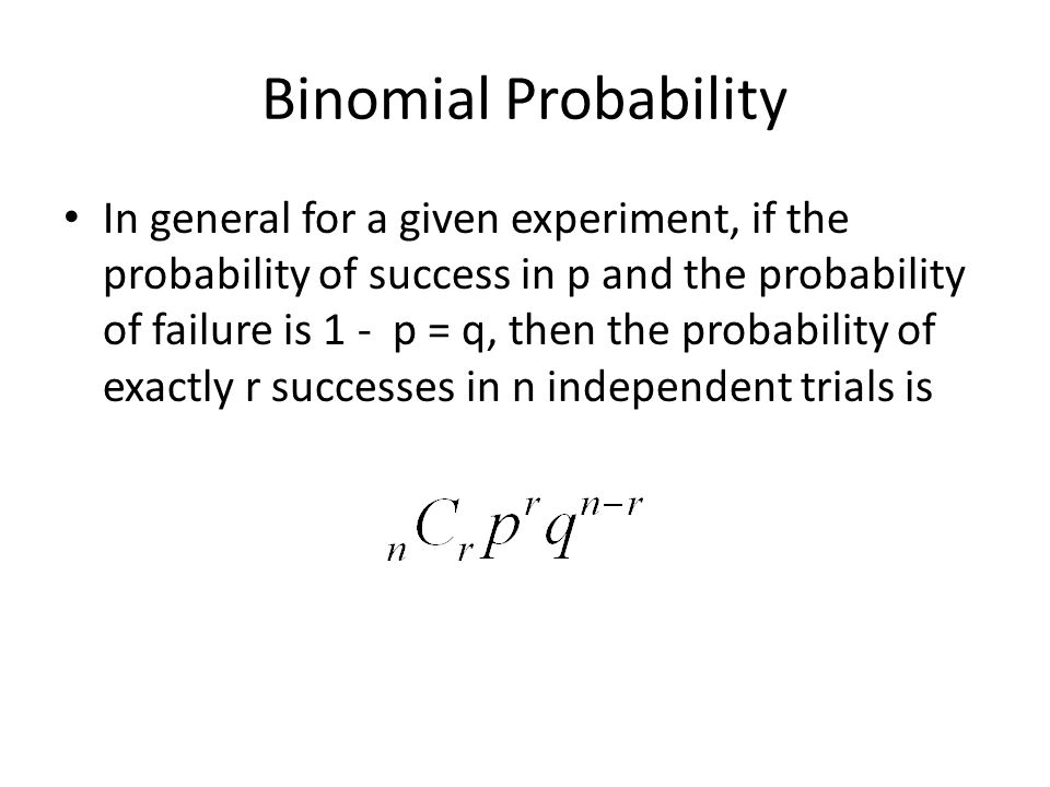 Aim Final Review Session 3 Probability ppt download – Binomial Probability Worksheet