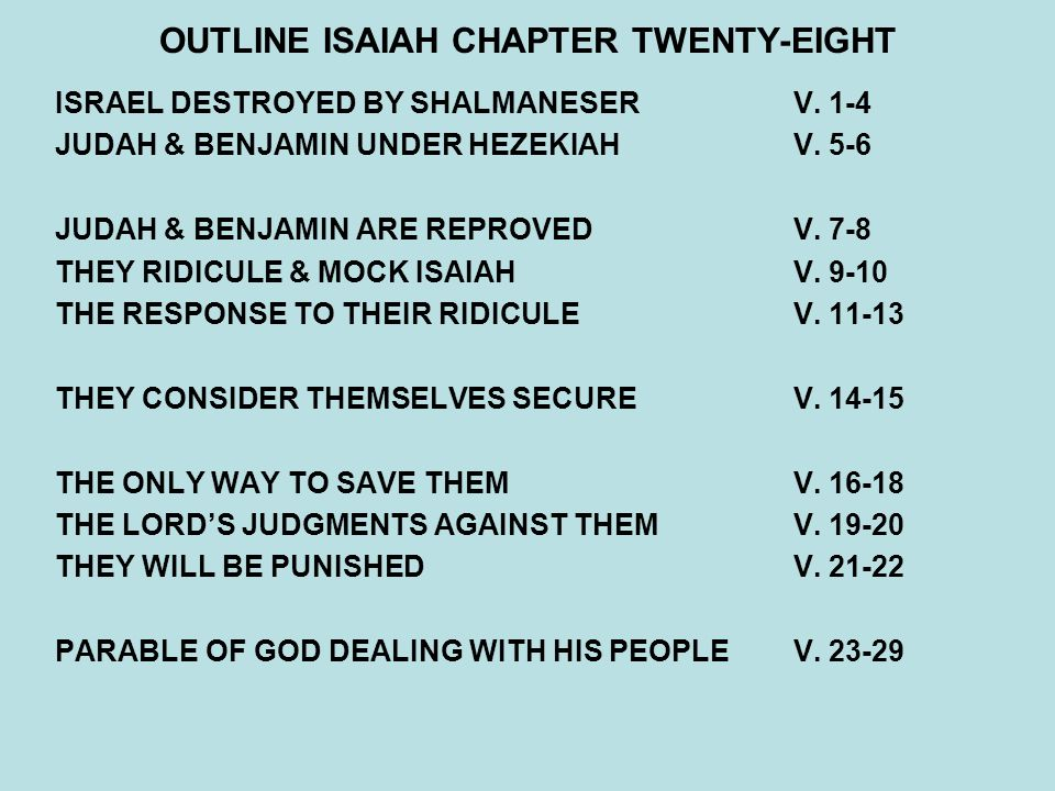 isaiah chapter 10 Woes against proud oppressors (1-4) the assyrian but an instrument in the hand of god for the punishment of his people (5-19) the deliverance from him.