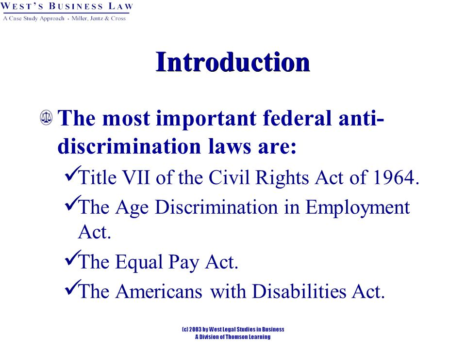 the significance of the americans with disabilities act The ada prohibits discrimination based on a person's disability in employment,  state and local government programs, private and non-profit businesses.
