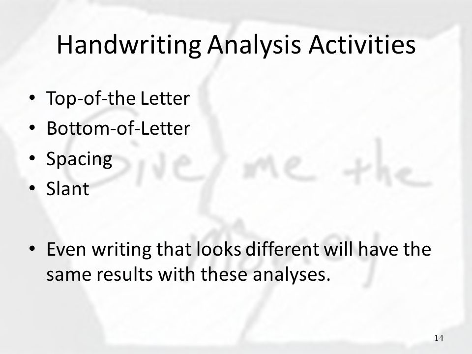 Sex Drive and Letter G in Handwriting Analysis