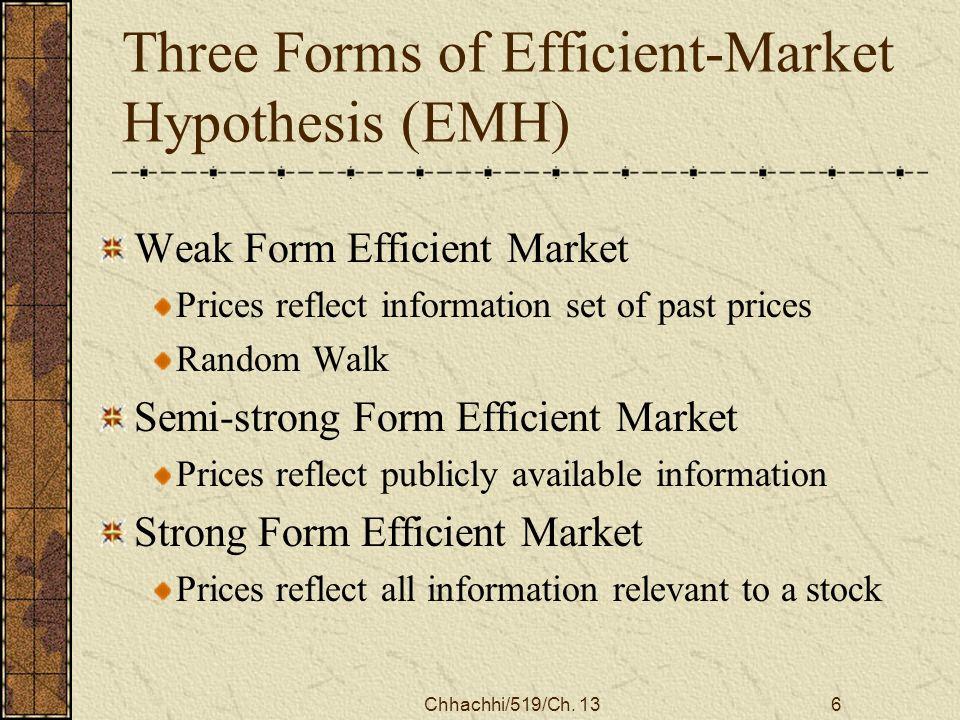 Efficient Capital Markets - ppt video online download