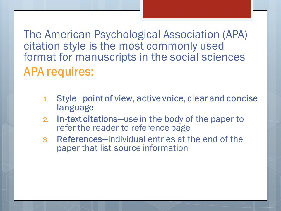 citation and american psychological association Apa citation style: examples based on the publication manual of the american psychological association, 5th edition, csb & sju reference bf 767 p83 2001.