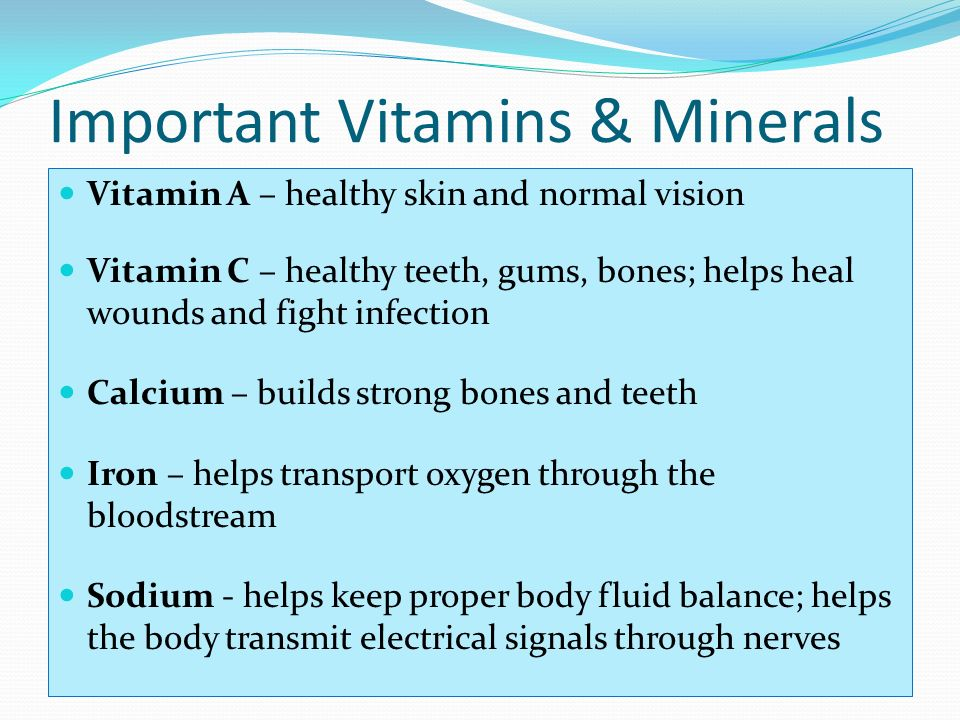 an analysis of the significance of vitamins in the body Commercial hair analysis:  the alleged significance of the  to measure accurately the elemental content of a person's body or to recommend vitamin, .