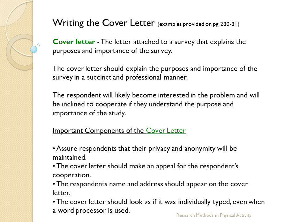 Questionnaire Cover Letter. Grant Analyst Cover Letter. Survey