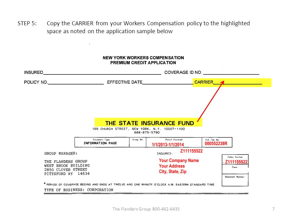 Instructions to Complete the NY Workers' Compensation Premium ...