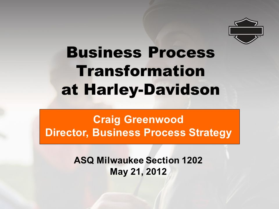 the strategic options available to the harley davidson organization Environmental analysis of harley-davidson  (available via the library by way of the ebsco database)  the harley davidson (hd) strategic approach within the .