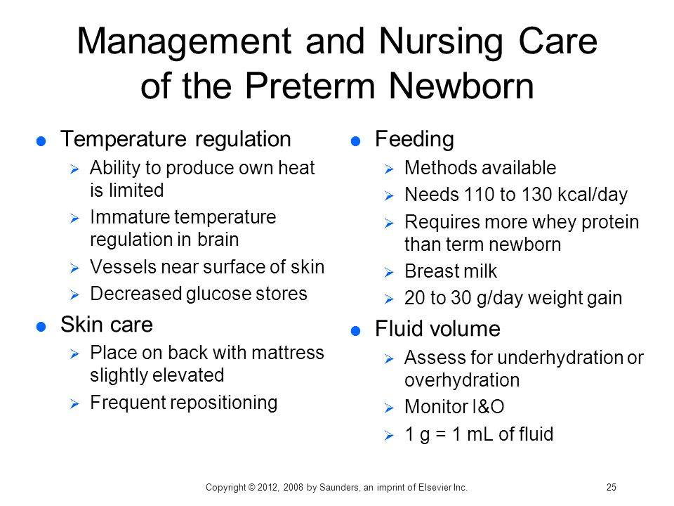 The Premature Infant: Nursing Assessment and Management, 2 nd Edition