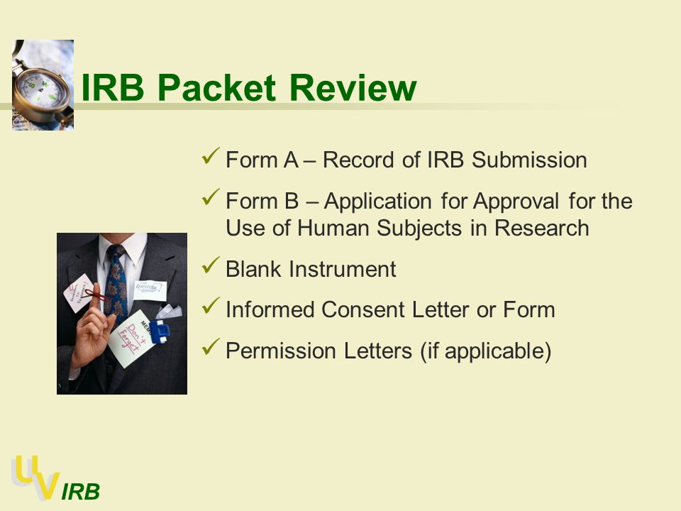 institutional review board ppt download