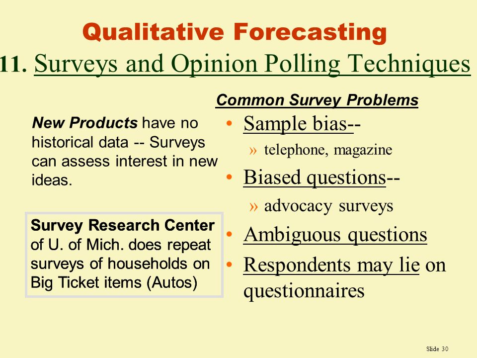 Forecasting Methods Compare and Contrast Essay Sample
