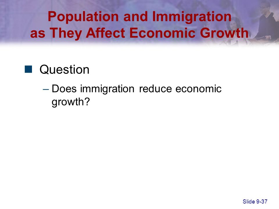 """does population growth affect economic growth Does population matter  how does population change affect the economy  economic growth and poverty in the developing world"""",."""