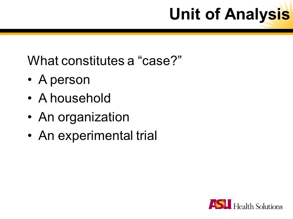 unit 5 case analysis Once you are comfortable with the information, use the following step-by-step instructions to write a case study analysis step one: investigate and analyze the.