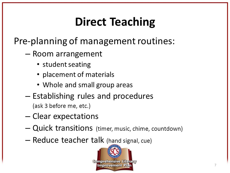 how to teach classroom procedures and routines
