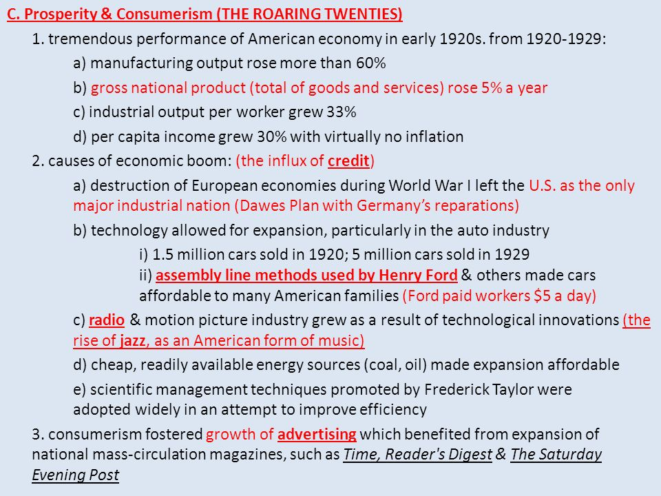 The Roaring Twenties Clarence Darrow William Jennings Bryan at – Roaring Twenties Worksheets