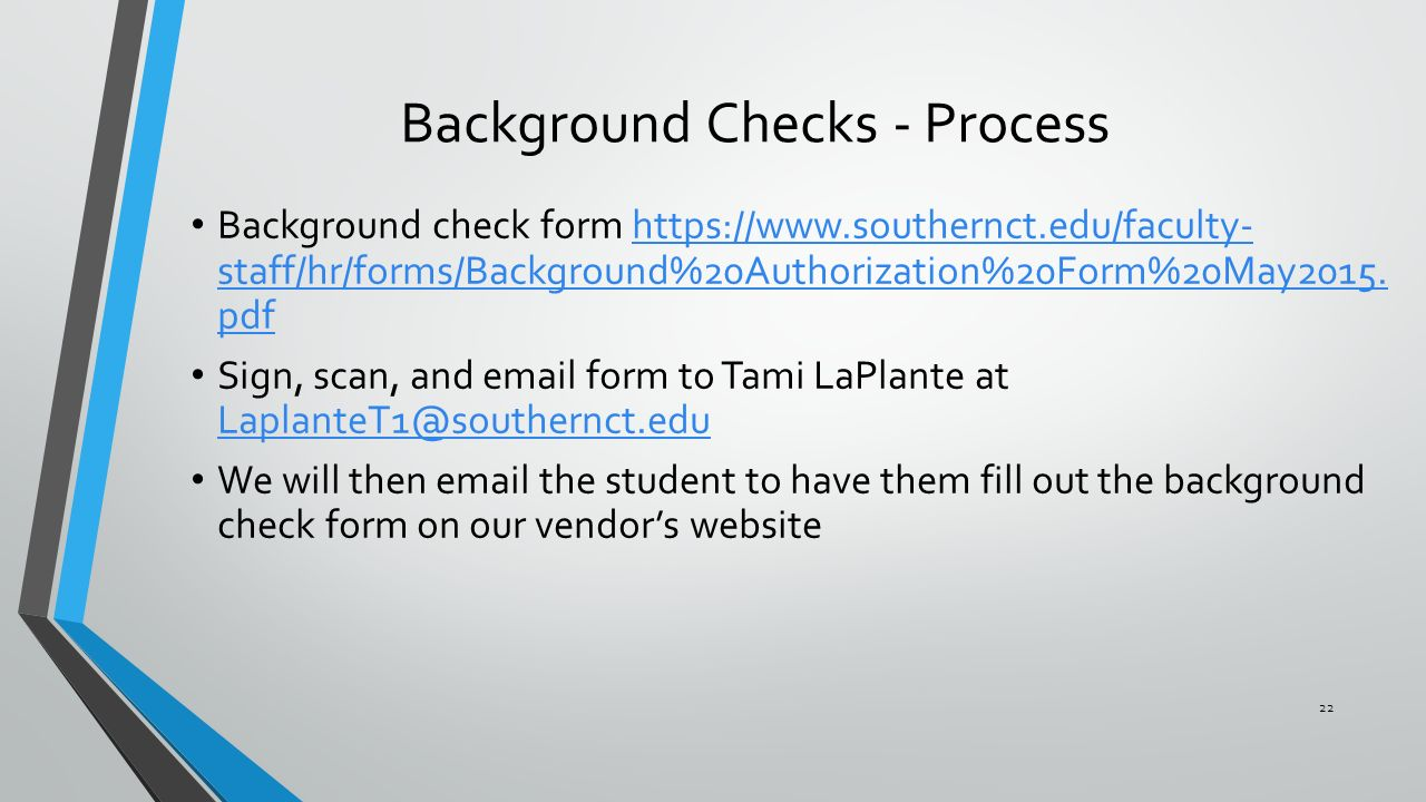 Criminal Background Checks Screen College Applicants