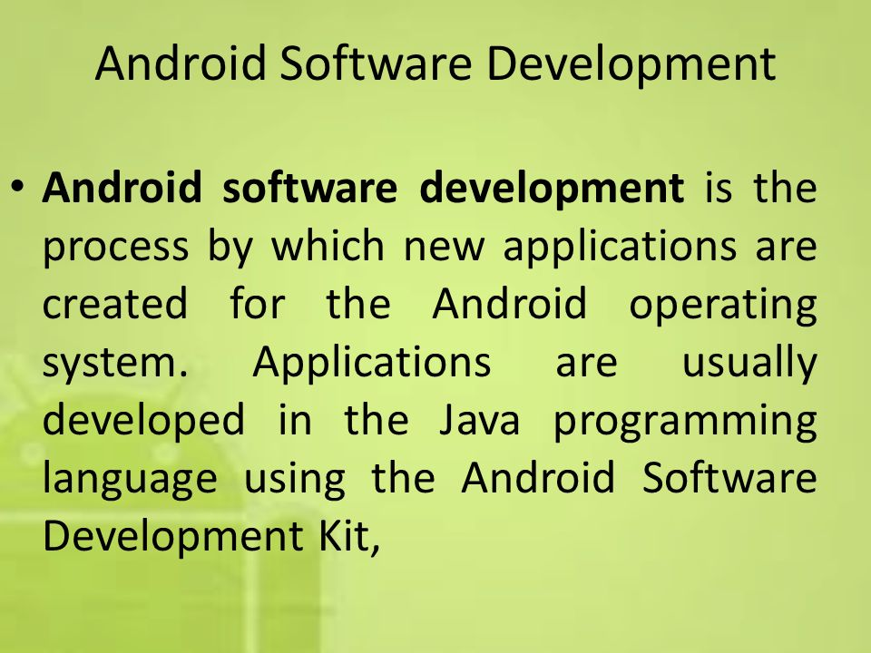 android application development pdf download