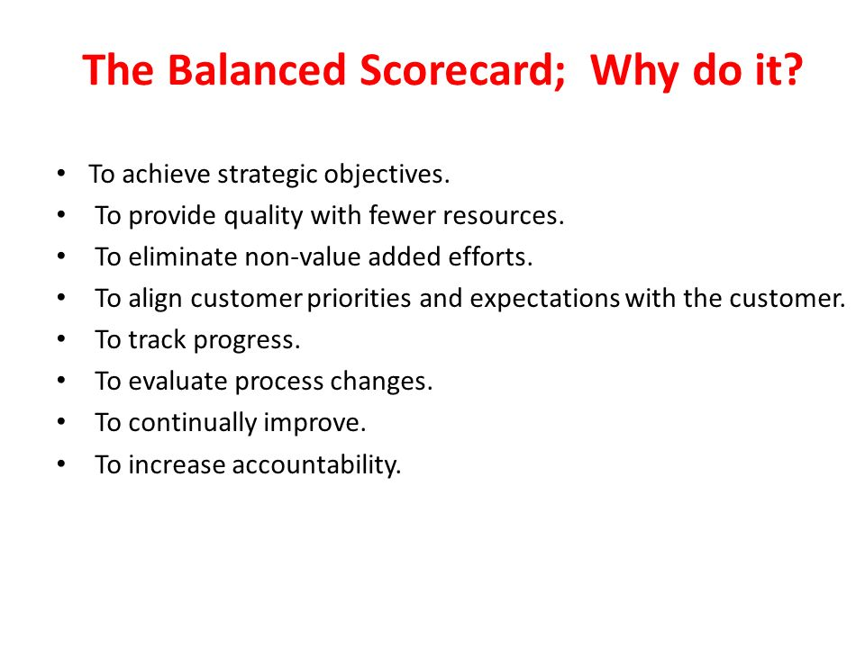 how does the balanced scorecard build the relationship between non financial objectives and financia Non-financial companies made net  which include certain non-relationship and treasury-related balances in the wholesale division and the bank deposits.