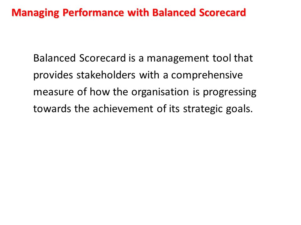 how does the balanced scorecard build the relationship between non financial objectives and financia National westminster bank plc (incorporated under the laws of england and wales with limited liability under the companies.
