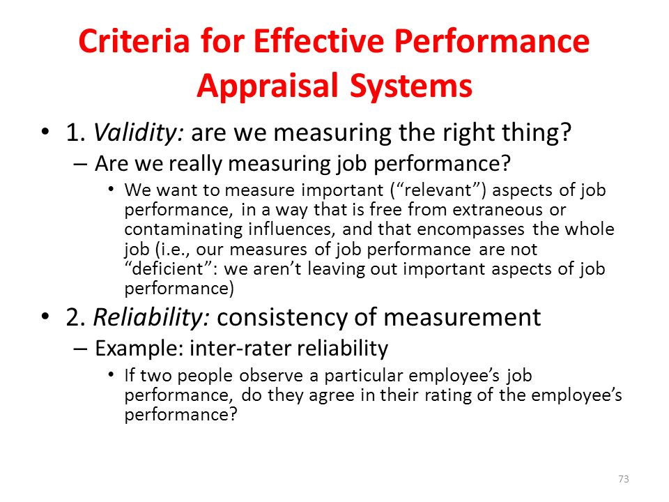 effectiveness of performance appraisal system 10 key tips for effective employee performance reviews share flip pin share the performance review is less effective.